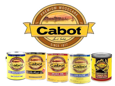 Cabot Woodcare Stains, G & W Lumber, Accident Maryland