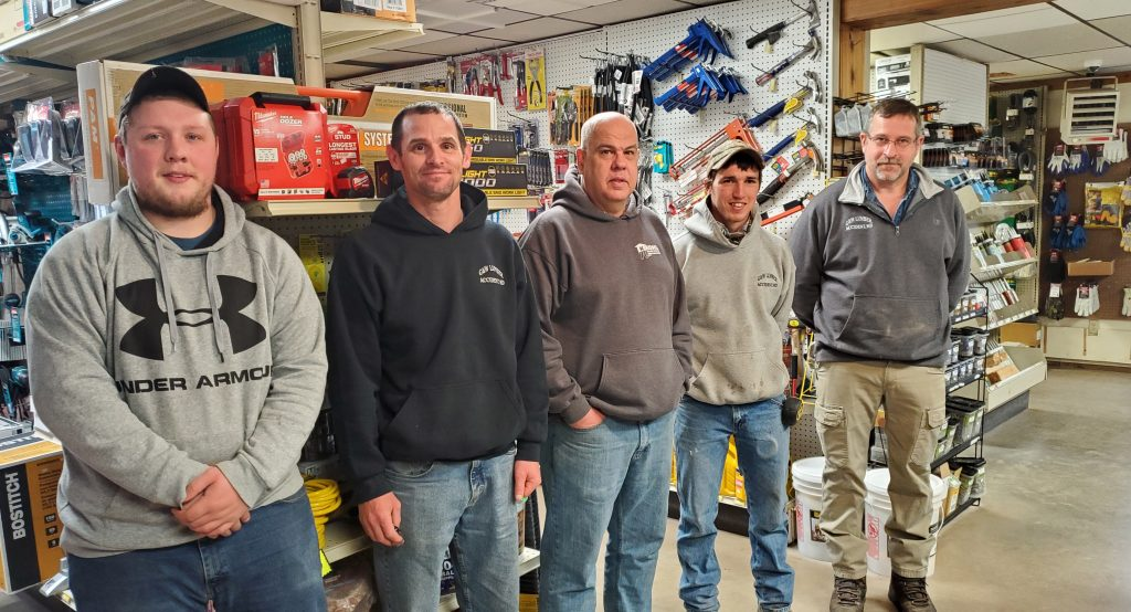 G&W LUMBER CENTER Crew in Accident Maryland